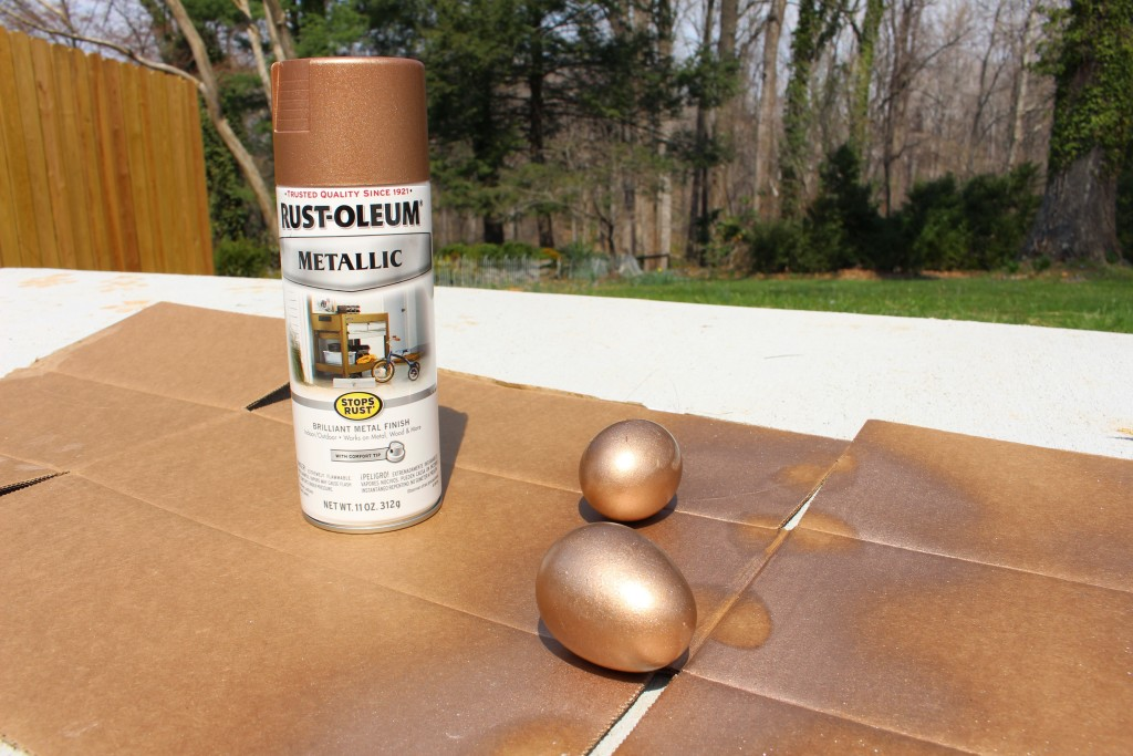 Marble & Bronze Easter Eggs - TeraJanelle.com DIY & Interior Design Lynchburg VA