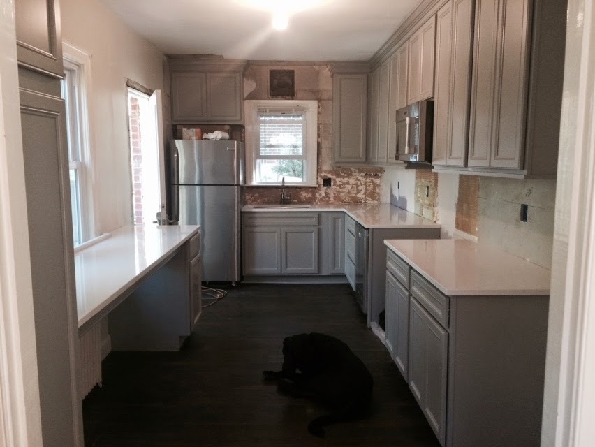 IKitchen Renovation - Affordable Marble Like Quartz Counters