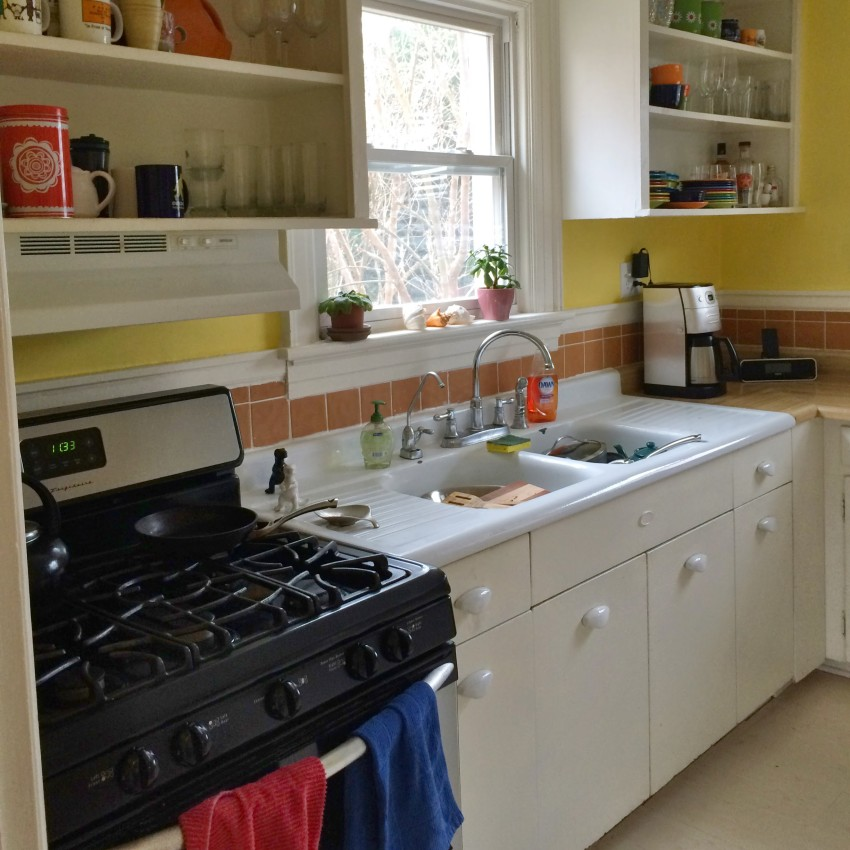 Affordable 85 Dollar Kitchen Remodel - Before and After Photos