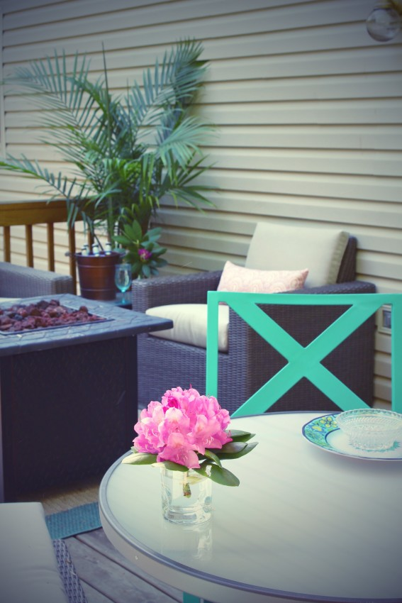 Target Threshold Heatherstone Patio Furniture Deck and Patio Design Reveal