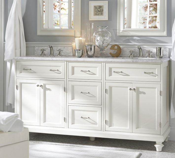Pottery Barn Marble Bath