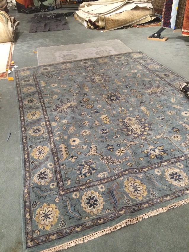 The Hunt for a Blue Rug - Tera Janelle Design