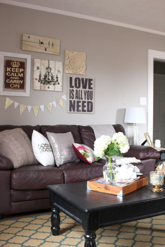 Style Inspiration - A Southern Pretty Apartment on an Affordable DIY Budget