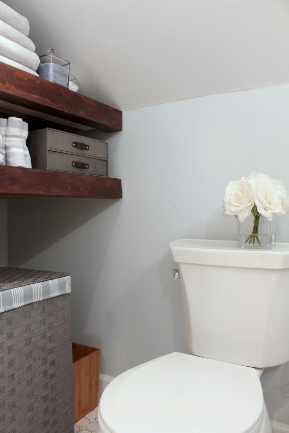 Bathroom Renovation - Before and After Photos - Classic Marble Bath