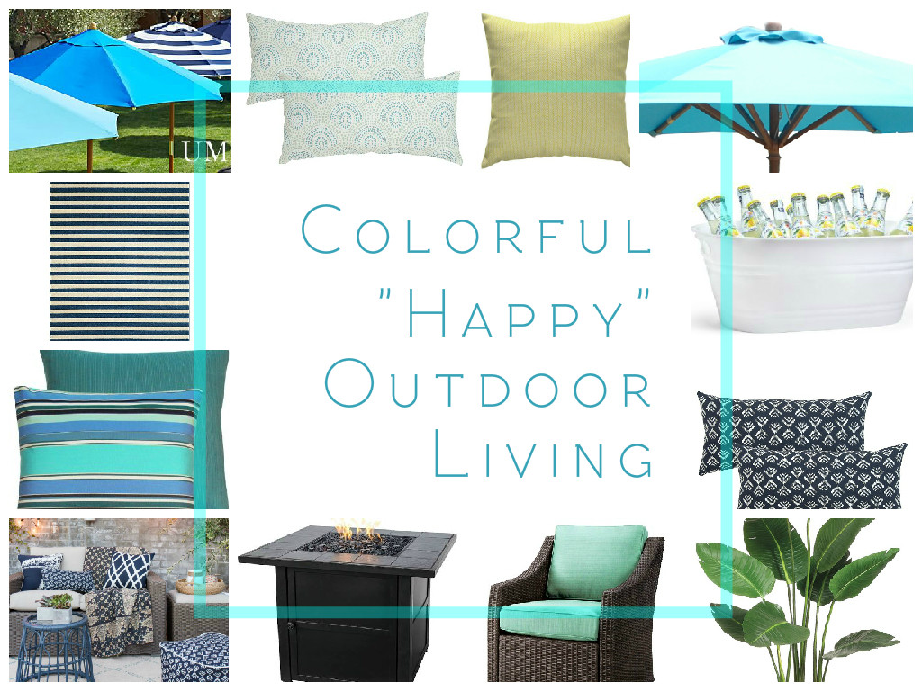 Colorful Happy Outdoor Living - Design Board (1)
