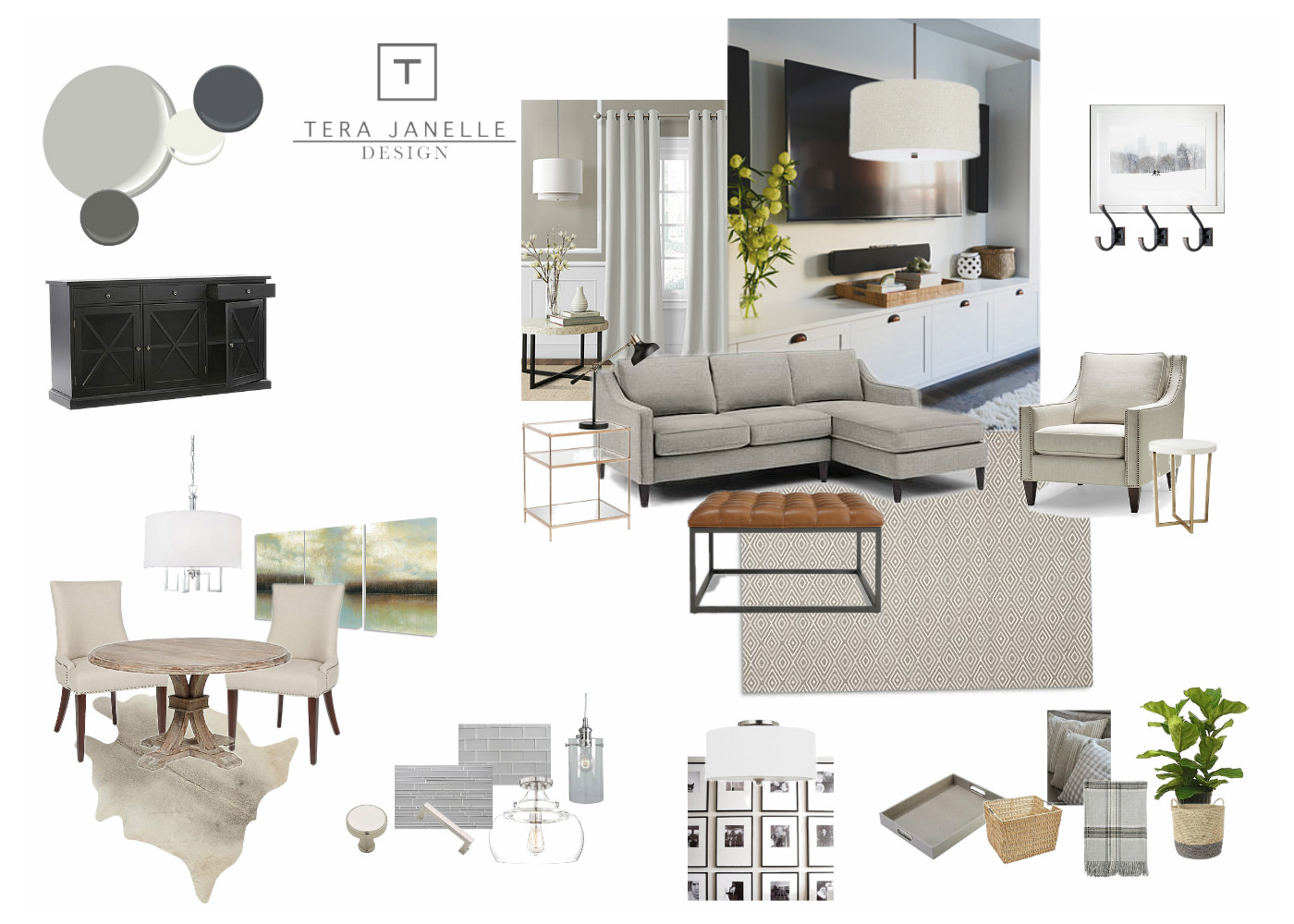 Tera Janelle Design - Design Board - Lynchburg Virginia